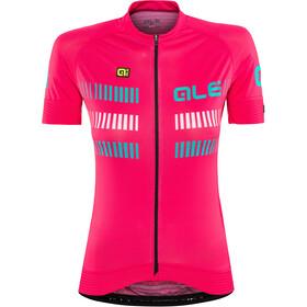 Alé Cycling Graphics PRR Strada Kortærmet cykeltrøje Damer pink